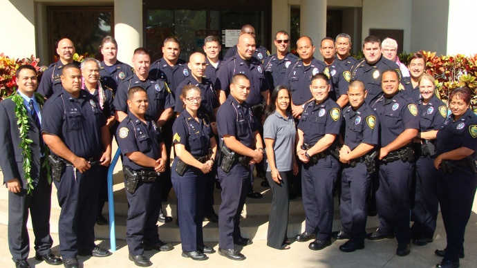 Crisis Intervention Team graduation. Photo by Wendy Osher.
