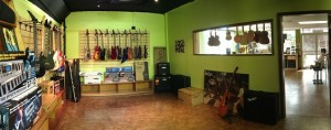 Guitar room at the new location. Courtesy photo.
