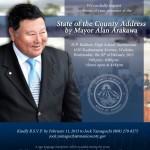 State of the County by Mayor Arakawa, Feb 20, 2013
