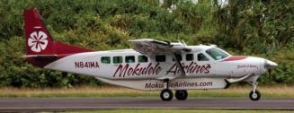 Mokulele Airlines aircraft. Courtesy photo.