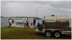 Pacific Biodiesel teamed up with the Nature Conservancy to wean Palmyra Atoll. Courtesy photo.
