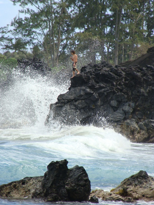 East Maui, High Surf. File photo by Wendy Osher.