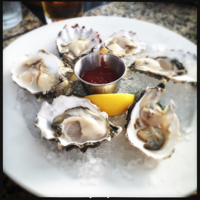 These oysters are not specifically depicting what will be available at the Taste of Summer event, but you get the idea . Photo by Vanessa Wolf