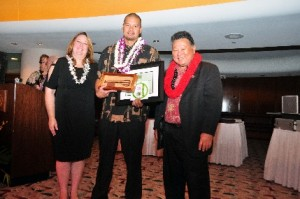"Young Small Business Person of the Year: David ""Boze"" Kapoi, Pride Ink Tattoo founder and Polynesian-style tattoo artist"