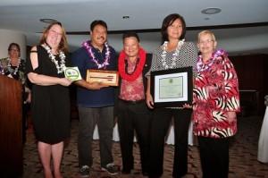 Exceptional Small Business (11-25 employees) David & Ululani Yamashiro (Ululani's Hawaiian Shave Ice LLC)