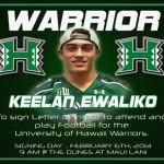 Baldwin's Keelan Ewaliko to Sign NLI on Wednesday