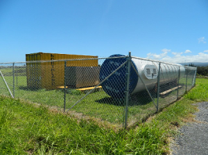 """Hawi, Big Island. A Gen-X project funded by the US Dept of Energy and a private investor, The $1.7 million prototype will be Hawaii's largest commercial off-grid power system featuring Gen-X's proprietary """"SkyGrid"""" Technology which enables customers to pump water without a utility grid. The project is expected to be completed before April 2013. Coutesy photo."""