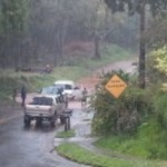 Vanessa Ghantous photo Upcountry Maui rain, Feb. 21, 2013.