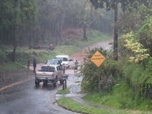 Vanessa Ghantous photo Upcountry Maui rain, Feb. 21, 2013.