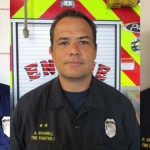 MFD promotions: (l-to-r)Tim O'Connor, Aaron Boswell, and Peter Vanderpoel.  Courtesy photos.