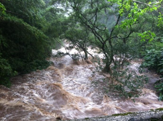 East Maui Flooding 2/21/2013.  File photo courtesy Henry Day.