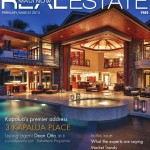 The cover of issue (Feb/March) of Real Estate Maui Now magazine.