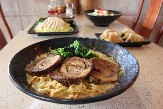 Char Siu Tan Tan Ramen. Photo by Kenneth Yanos, courtesy of Gilbert & Associates