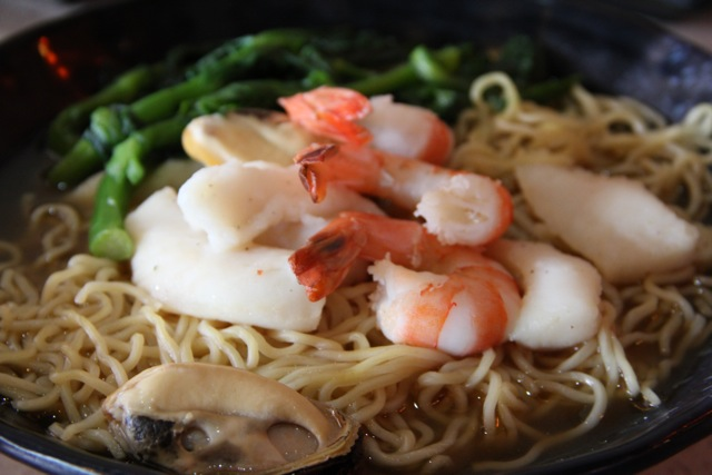 Seafood Shoyu Ramen. Photo by Kenneth Yanos, courtesy of Gilbert & Associates