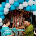 Mayor Alan Arakawa was on hand to celebrate the grand opening of the Maui Friends of the Library's new used bookstore at Queen Kaahumanu Shopping Center. Courtesy photo.