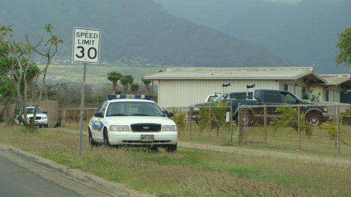 MHS lockdown, 3/11/13. Photo by Wendy Osher.