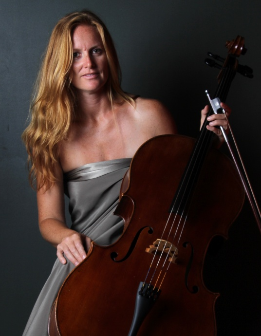 Guest cellist Silvana Samuel. Courtesy image.