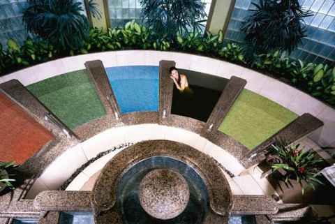 The Grande Spa's Treme Salt Baths. Photo courtesy Grand Wailea.