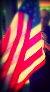 File photo, American flag, by Wendy Osher.