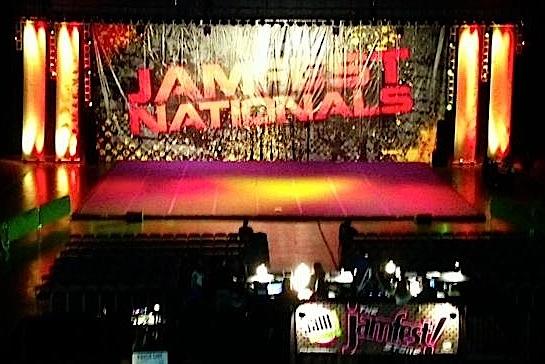 JAMfest Cheer Nationals in Long Beach, Calif. Photo by Hawaii All-Star Cheerleaders.