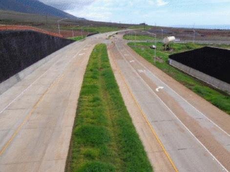 Lahaina Mini-Bypass. Photo courtesy Hawaii Department of Transportation.