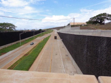 Lahaina Mini-Bypass. Photo courtesy Hawaii Department of Transportation.
