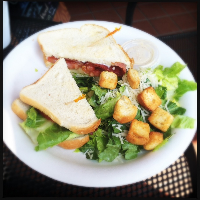 The BLT: exactly what you'd expect. Photo by Vanessa Wolf