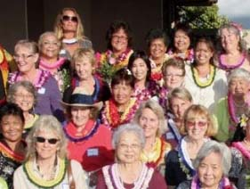 File photo of 2010 Women's History month nominees. File photo courtesy County of Maui.