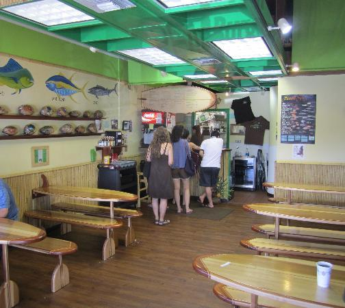 Inside Coconut's Fish Cafe in Kihei. Photo courtesy of Trip Advisor.