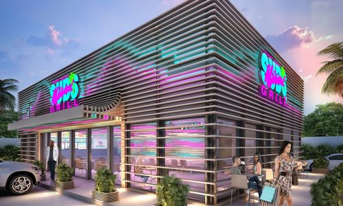 Tne New Miami Grill restaurants will feature a new modern Miami look and feel.