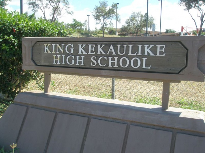 King Kekaulike High School. File photo Rodney S. Yap.