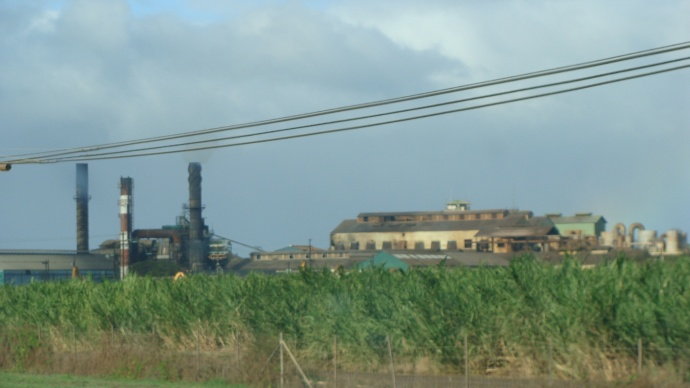Pu'unene Mill, file photo by Wendy Osher.