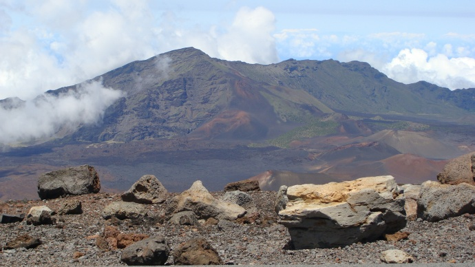 Haleakalā, Crater Road. File photo by Wendy Osher.