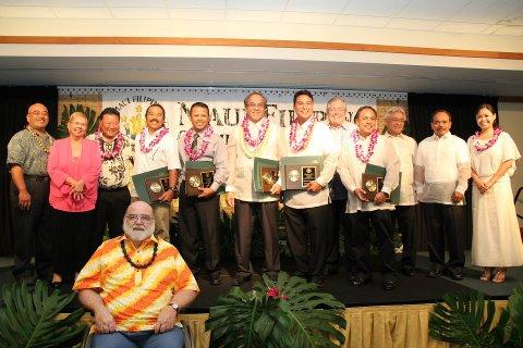 2012 Gintong Pamana leadership awardees. Courtesy photo.