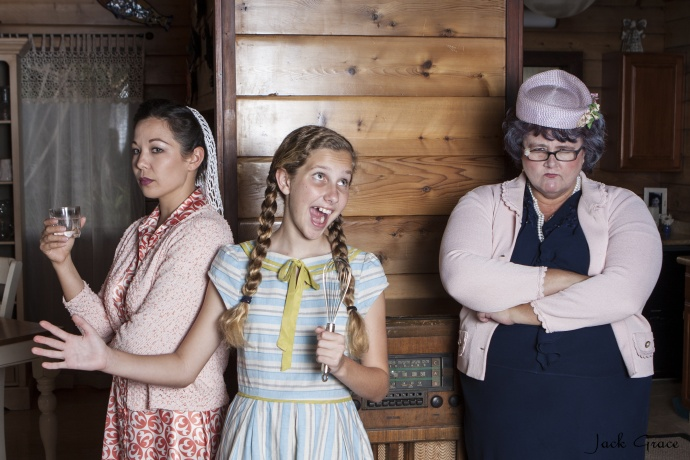 Kristin Jones, Marley Mehring, and Cat Hayes. Photo courtesy Jack Grace Photography