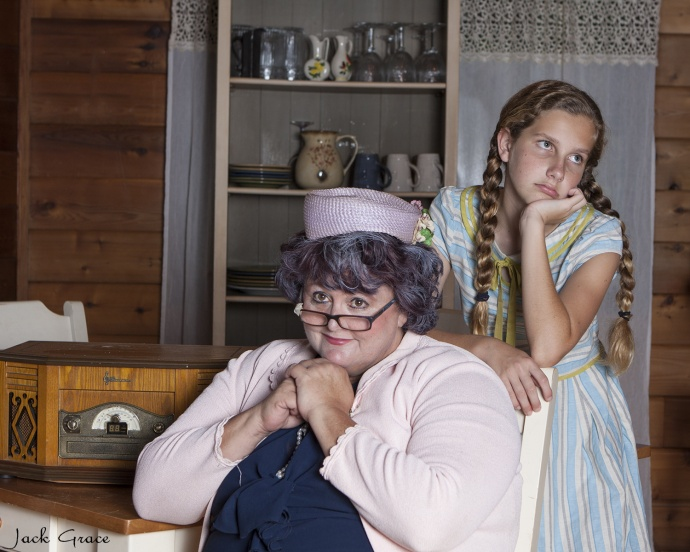 Cat Hayes and Marley Mehring star in 'Hollywood Arms.' Photo Courtesy Jack Grace.