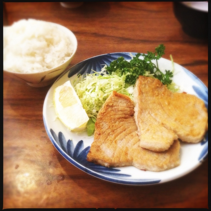 The Fried Fish (ahi, in this case.) Photo by Vanessa Wolf