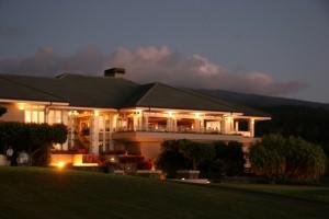 The Plantation House in Kapalua at night. Courtesy photo.