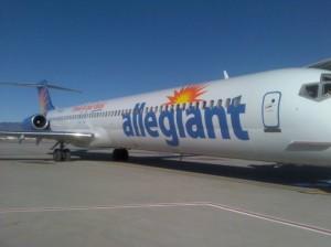 Allegiant Air. Courtesy photo.