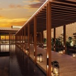 Andaz Maui at Wailea, entry bridge. Courtesy photo.