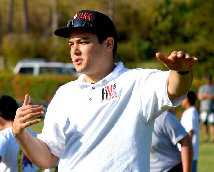 Kamehameha Maui's new head football coach Cody Nakamura. File photo by Rodney S. Yap.