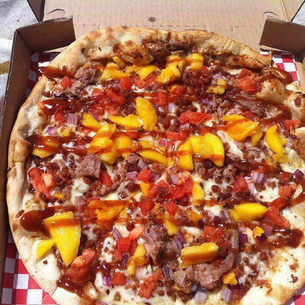 Serino's Hawaiian pizza. Courtesy photo.