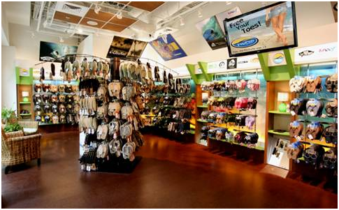 Flip Flop Shops will open at the Whalers Village on Friday. Courtesy photo.