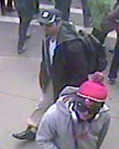 Suspect 1. Photo courtesy FBI. Click image to view in greater detail.