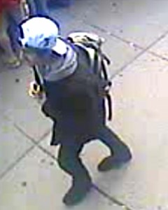 Suspect 2. Photo courtesy FBI. Click image to view in greater detail.
