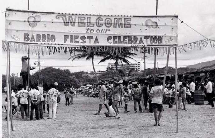 The Barrio Fiesta of yore. Courtesy photo.
