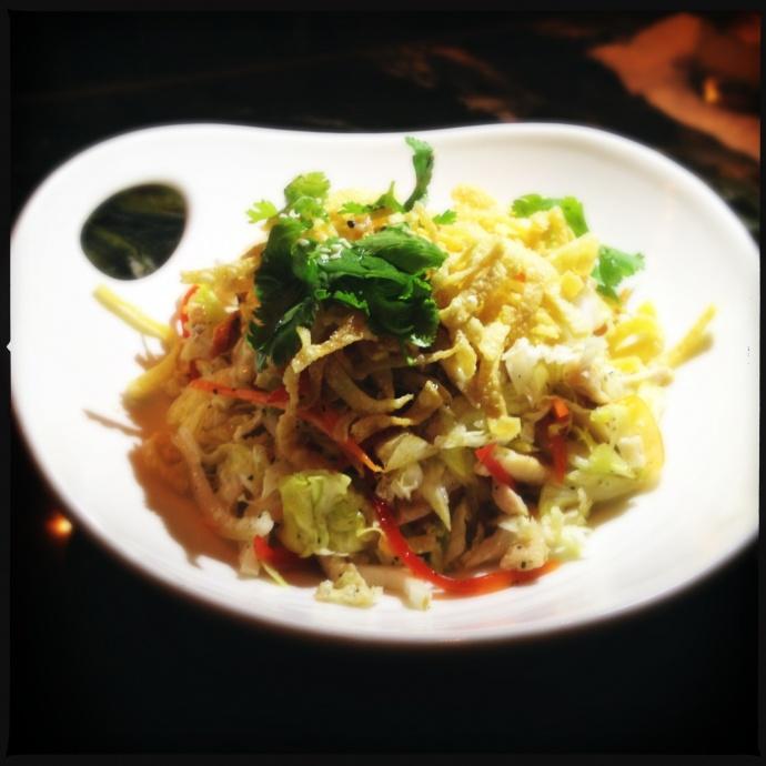 Chop Chop Sesame Salad. Photo by Vanessa Wolf