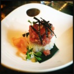 The ahi poke will also be part of the luncheon offerings. Photo by Vanessa Wolf.