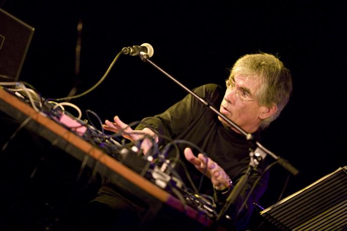 """Another Jaap Blonk """"Sound Poetry"""" action shot. Courtesy photo"""