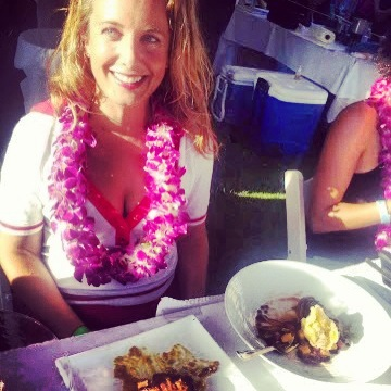 Vanessa Wolf judges the Maui Onion Festival Recipe Contest on behalf of Maui Now.